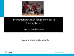 Missie en Visie TU Delft