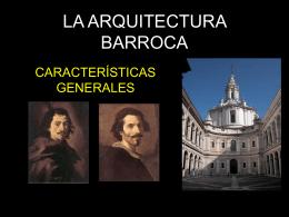 LA ARQUITECTURA BARROCA