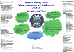 Reepham Primary School School Improvement and …