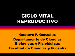 CICLO VITAL REPRODUCTIVO - UPCH