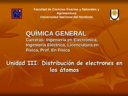 Diapositiva 1 - Facultad de Ciencias Exactas y Naturales y