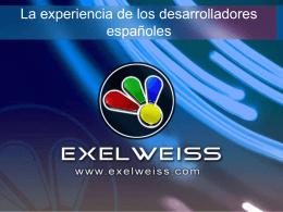 Diapositiva 1 - Desarrollo de videojuegos : Exelweiss