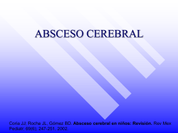 ABSCESO CEREBRAL - Pediatra en Poza Rica