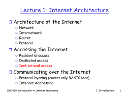 INE1020 Lecture Notes