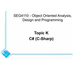 5.1 What is UML? - University of Ottawa
