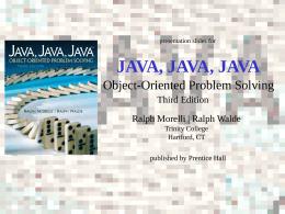 Java, Java, Java