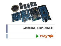 ARDUINO EXPLAINED