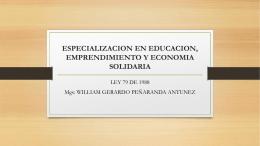 ESPECIALIZACION EN EDUCACION, EMPRENDIMIENTO Y …