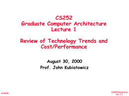 Lecture 1: Course Introduction and Overview