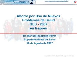 La Reforma de Salud y su Impacto en el Sistema Isapre