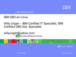DB2 II Customer Overview