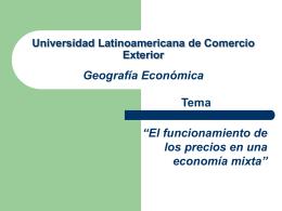 Universidad Latinoamericana de Comercio Exterior …