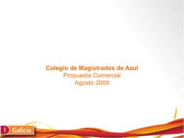 Diapositiva 1 - Colegio de Magistrados y Funcionarios de …