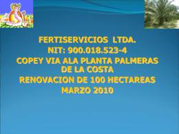 FERTISERVICIOS LTDA. NIT.900.018.523