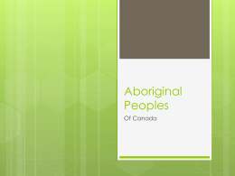 The Native Peoples - Nova Scotia Department of Education