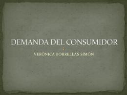 DEMANDA DEL CONSUMIDOR - GiteTur