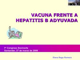 vacuna hepatitis B adyuvada