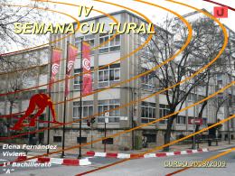 IV SEMANA CULTURAL