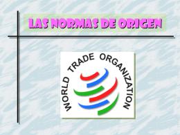 LAS NORMAS DE ORIGEN - Apuntes, Tareas, Monografias