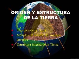 02. Origen y estructura de la Tierra