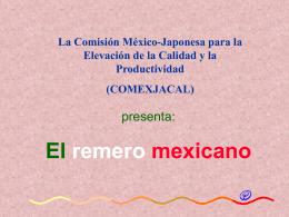 El remero mexicano