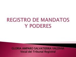 Registro de Mandatos y Poderes