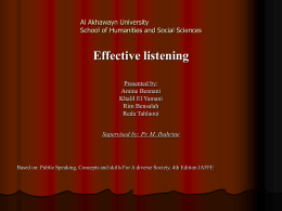 Diapositive 1 - Al Akhawayn University