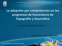 Diapositiva 1 - Citac A.C. | Colegio de Ingenieros
