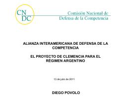 PROGRAMAS DE CLEMENCIA - CRCAL