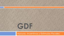Programas GDF