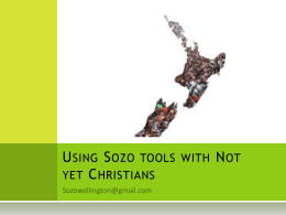 Introduction - Bethel Sozo Australia