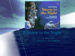 A Storm in the Night - Open Court Resources.com