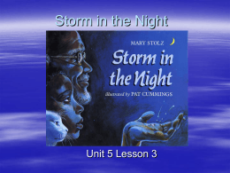 Storm in the Night - Open Court Resources.com