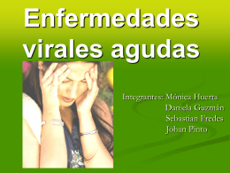 Enfermedades virales agudas - BIOLOGIA | Just another