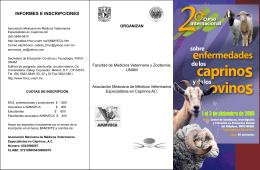 Diapositiva 1 - Claustro de Caprinos, FMVZ-UNAM