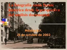 Perspectivas sobre el tratamiento documental de la …