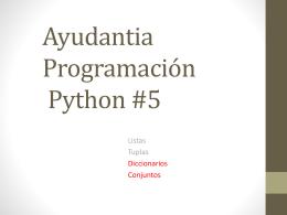 Ayudantia Python