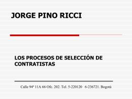 FONDO FINANCIERO DE PROYECTOS DE DESARROLLO …