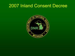 2007 Inland Consent Decree