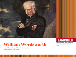 22. WORDSWORTH