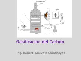 Centrales de Ciclo Combinado de Gasificacion Integrada
