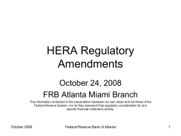 Regulation Z - Federal Reserve Bank of Atlanta