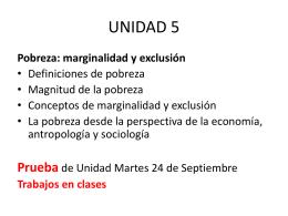 UNIDAD 5 - Clase de Historia