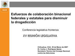 Diapositiva 1 - Border Legislative Conference