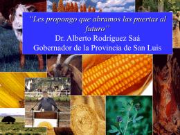 Provincia de San Luis ESTACION DE TRANSFERENCIA …