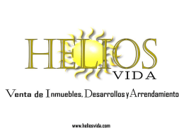 Diapositiva 1 - Helios Vida | Inversiones bienes y raices