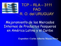 TCP – RLA – 3111 R. O. del URUGUAY