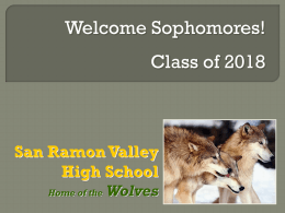 Counselor Assignments - San Ramon Valley High School