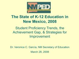 NM Standards Based Assessment