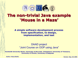 A simple software developement process from …